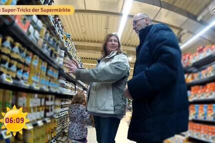Sat.1 Frühstücksfernsehen Die Tricks der Supermärkte