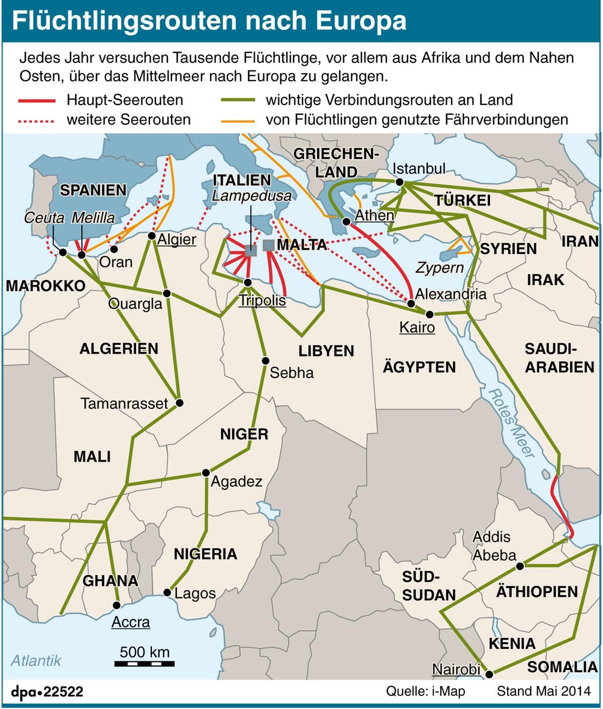 Prächtig So kommen Flüchtlinge nach Europa | WEB.DE &NG_52