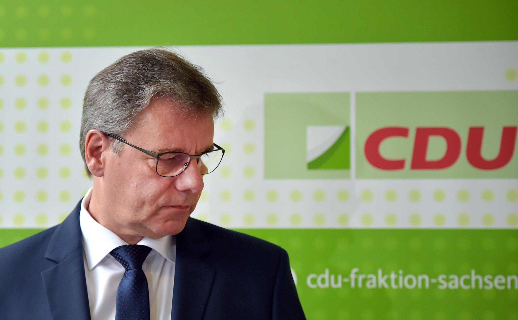 Bild zu Sächsischer CDU-Fraktionsvorsitzender Kupfer tritt zurück