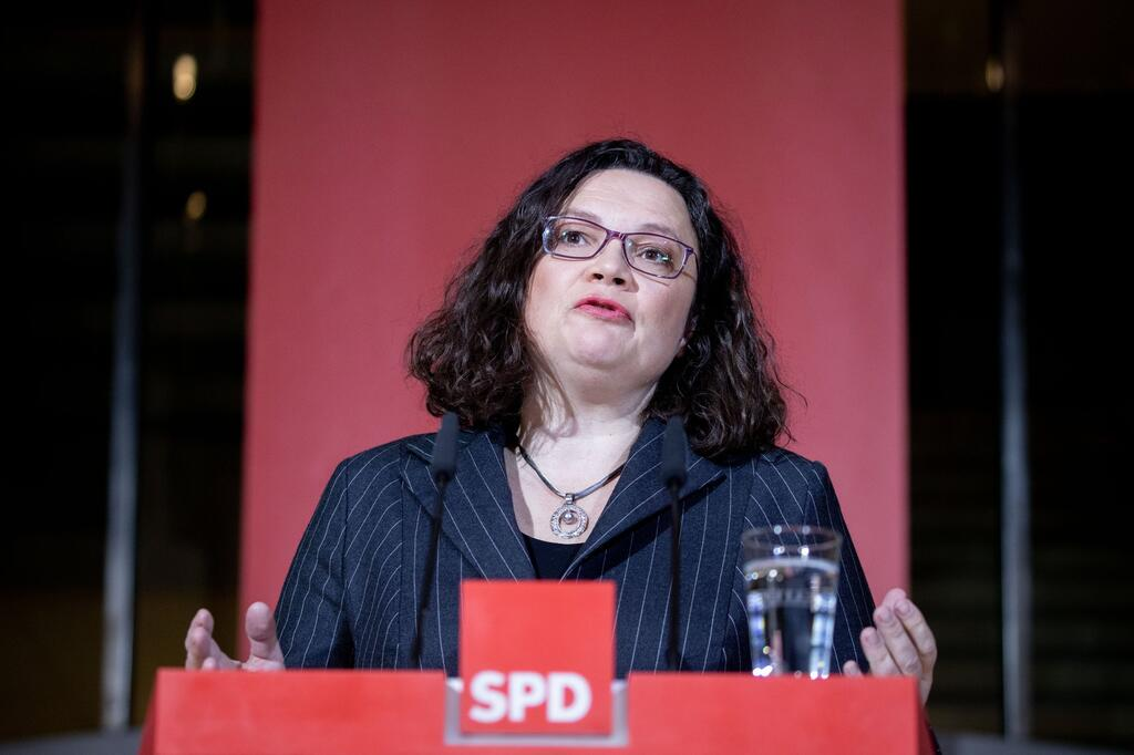 Hesse state election - Reaction Nahles