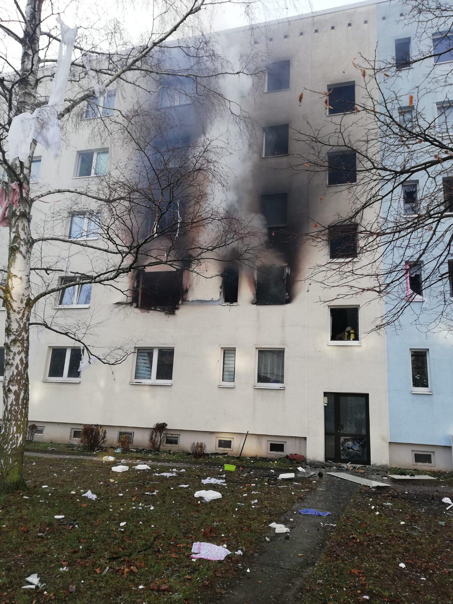 Bild zu Explosion, Blankenburg