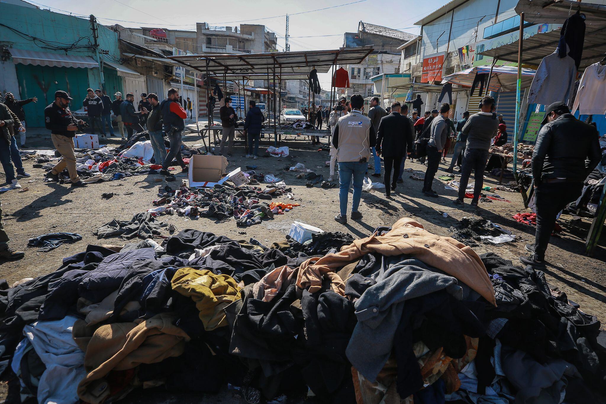 Bild zu Anschläge in Bagdad