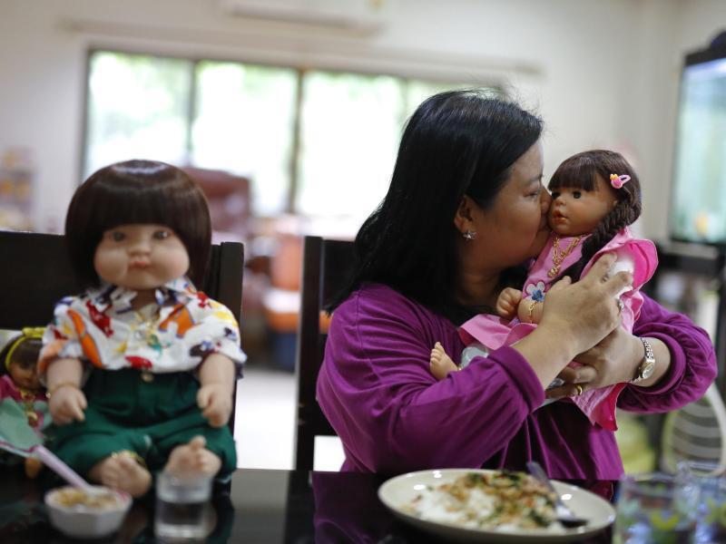 Bild zu Puppen in Thailand