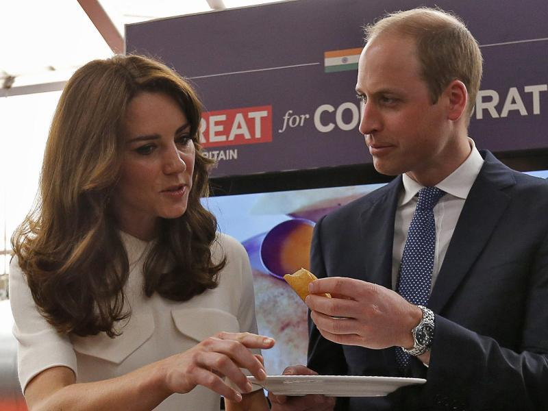 Bild zu Prinz William und Kate in Indien