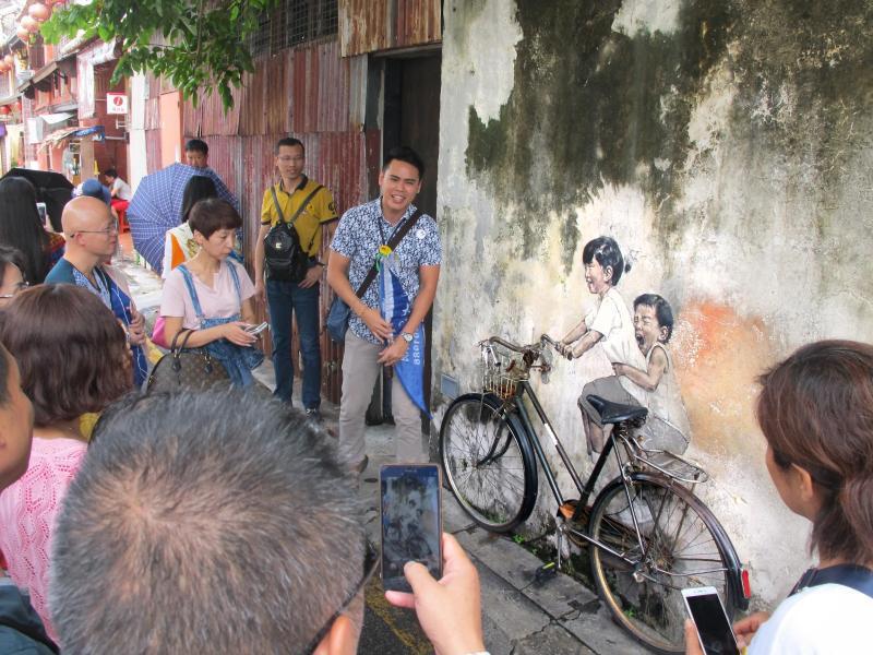 Bild zu Straßenkunst in Malaysia