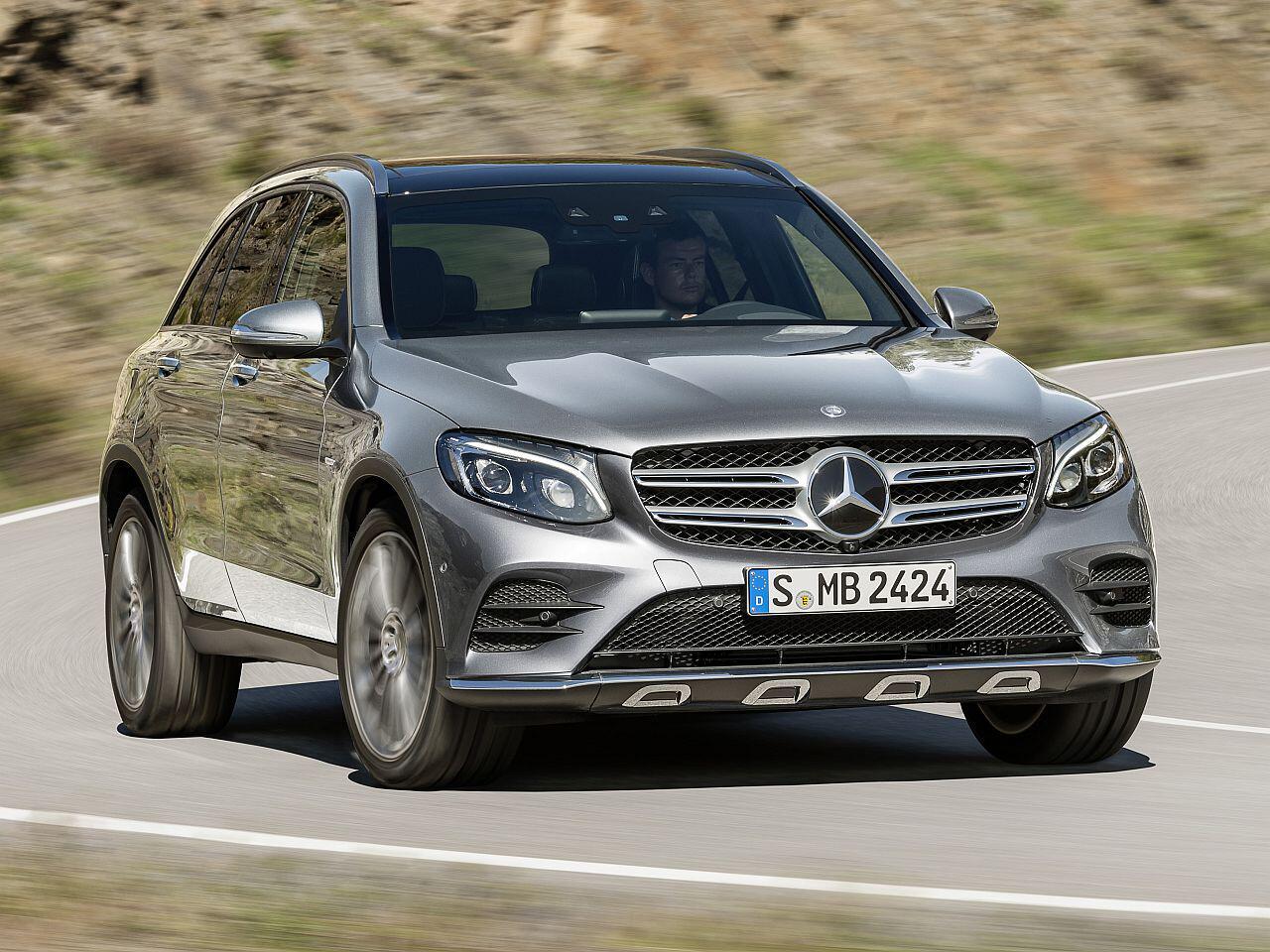 Bild zu Platz 3: Mercedes GLC