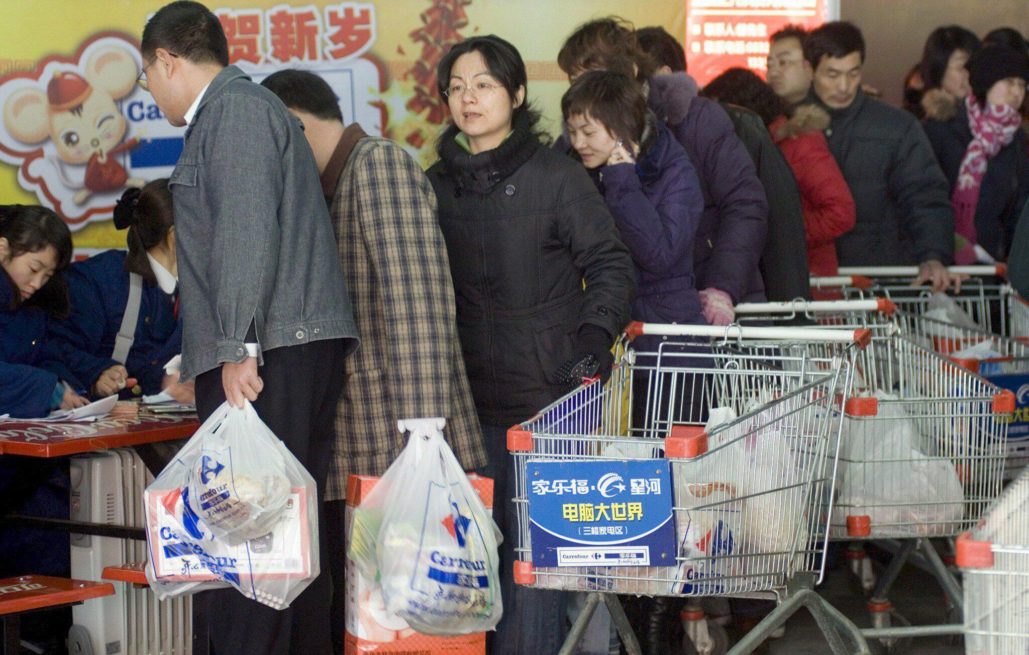 Bild zu China verbietet Plastiktüten in Läden