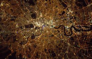 London, Nachtleben, Satellit