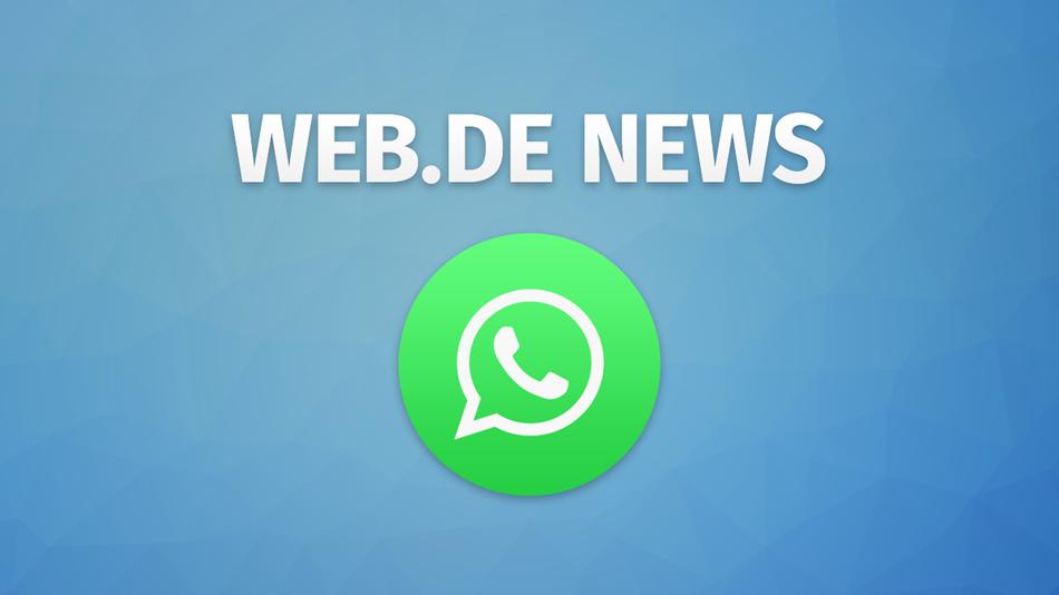 WEB.DE News per WhatsApp