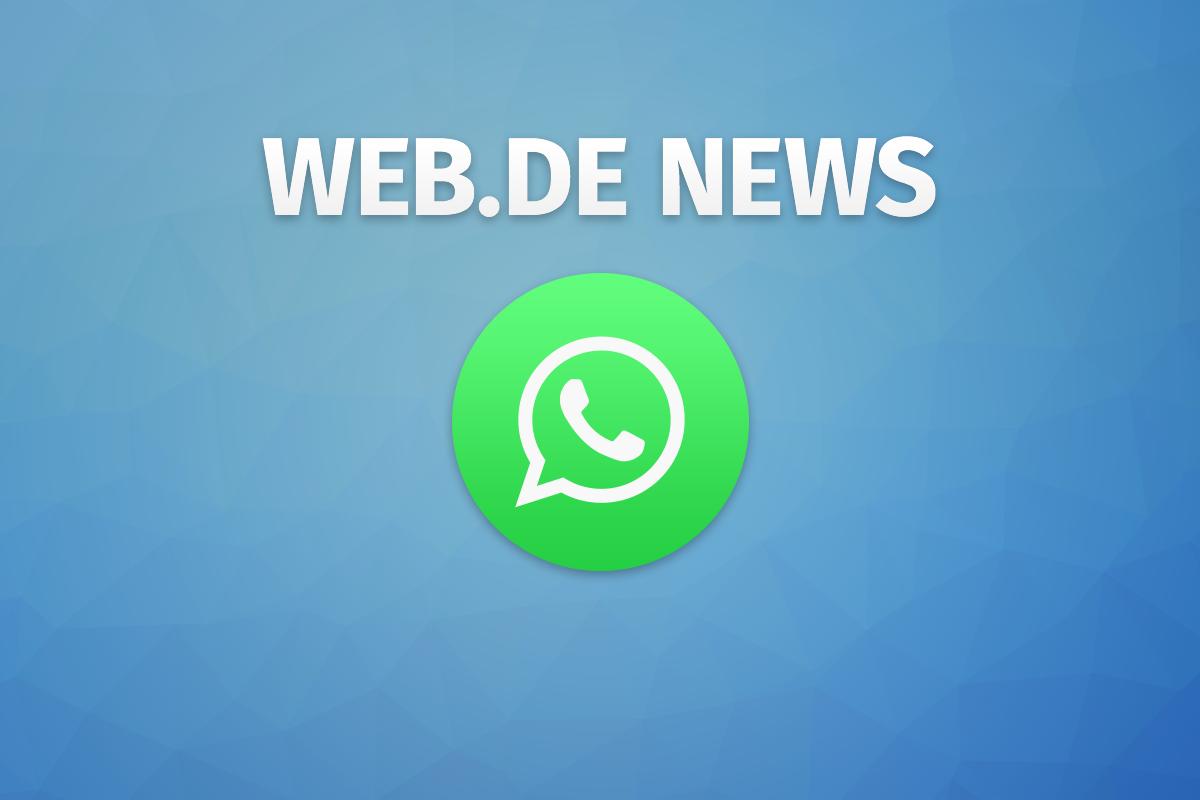 Bild zu WEB.DE News per WhatsApp
