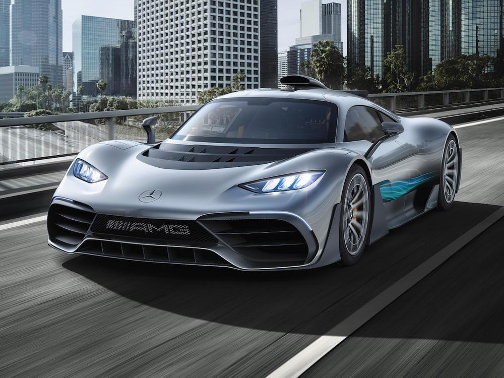 Bild zu Weltpremiere Showcar Mercedes-AMG Project ONE: Mercedes-AMG bringt Formel 1-Technologie für die ...
