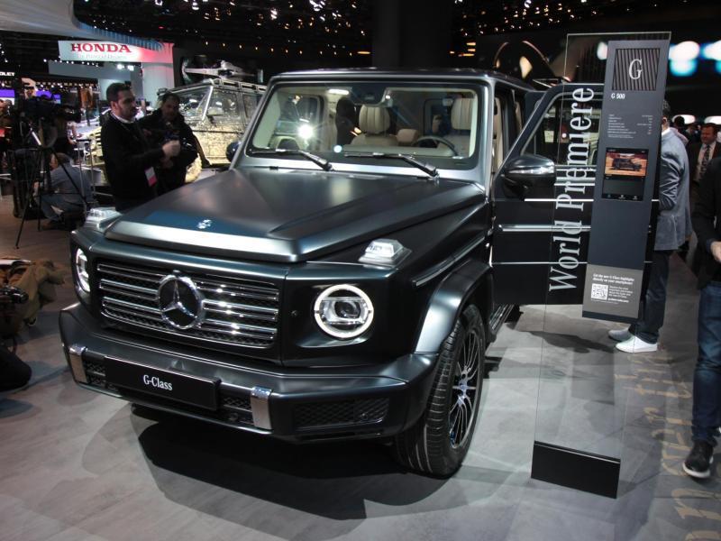 Bild zu Neue Mercedes G-Klasse