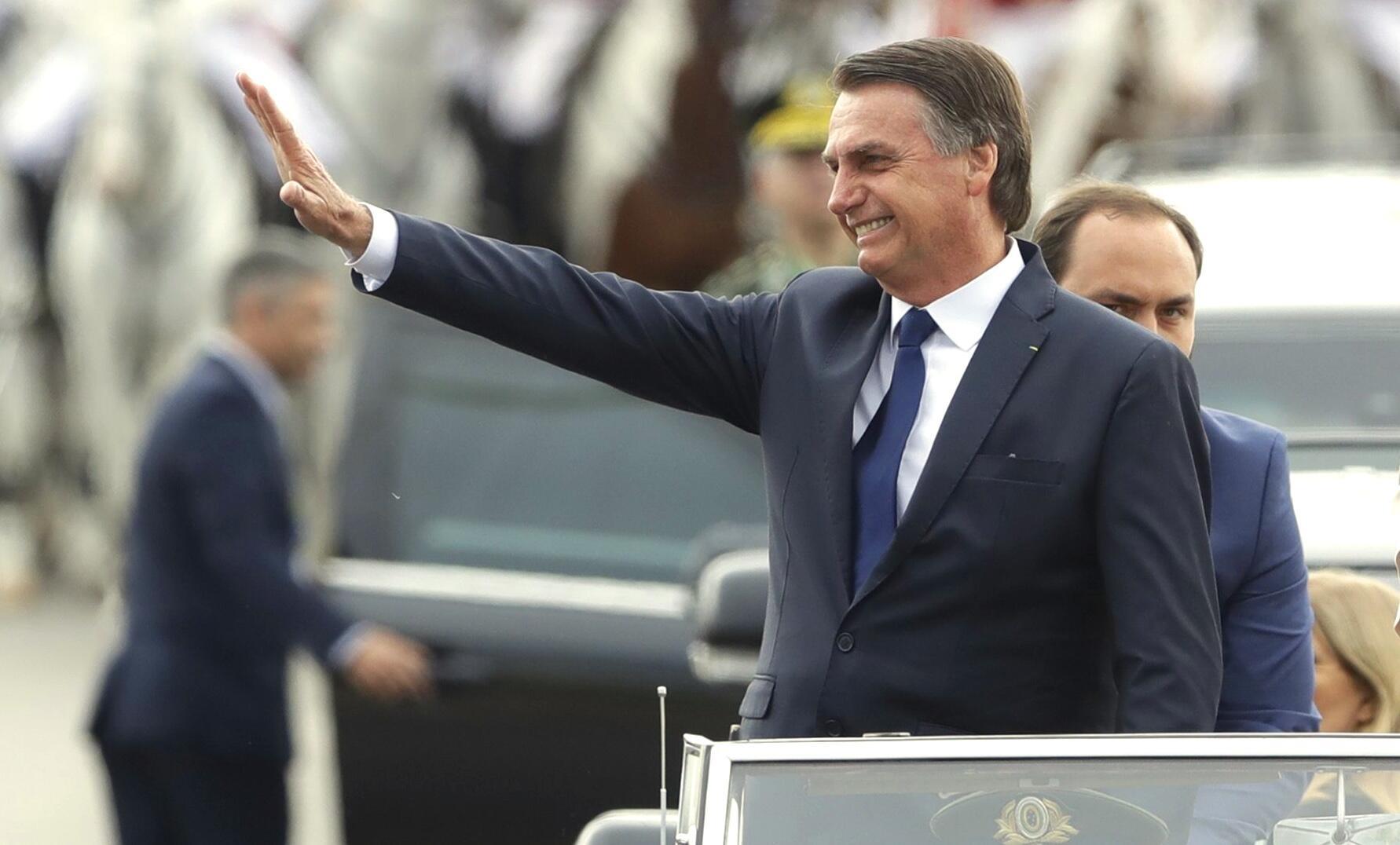 Bild zu Amtseinführung von Brasiliens Präsident