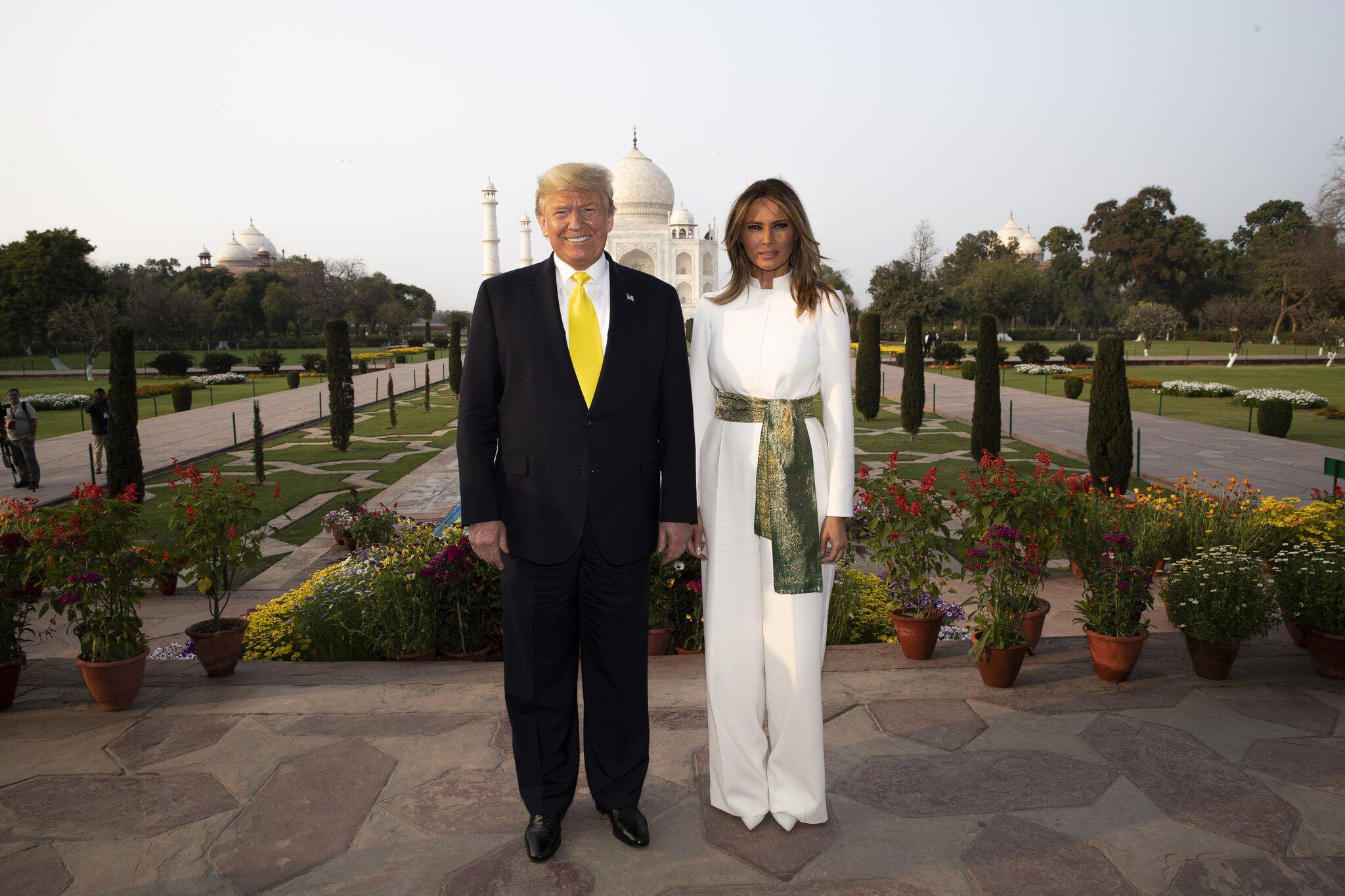 Bild zu US-Präsident Trump in Indien