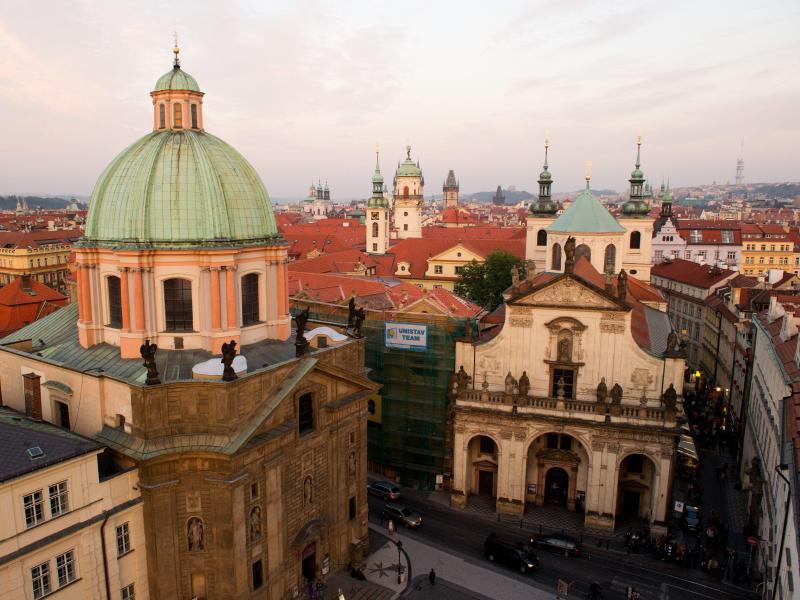 Bild zu Stadtbild von Prag