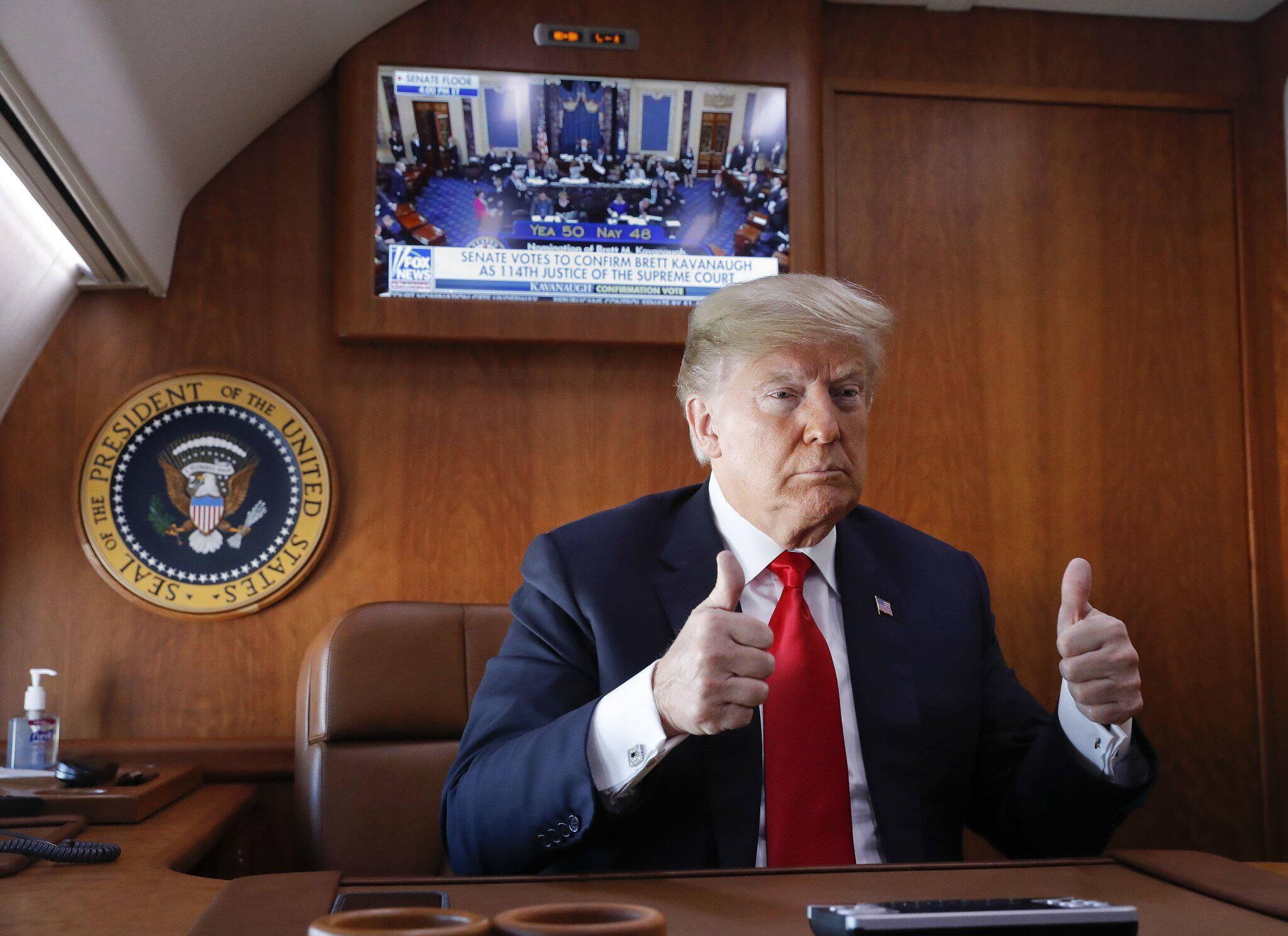 Bild zu Donald Trump, Brett Kavanaugh