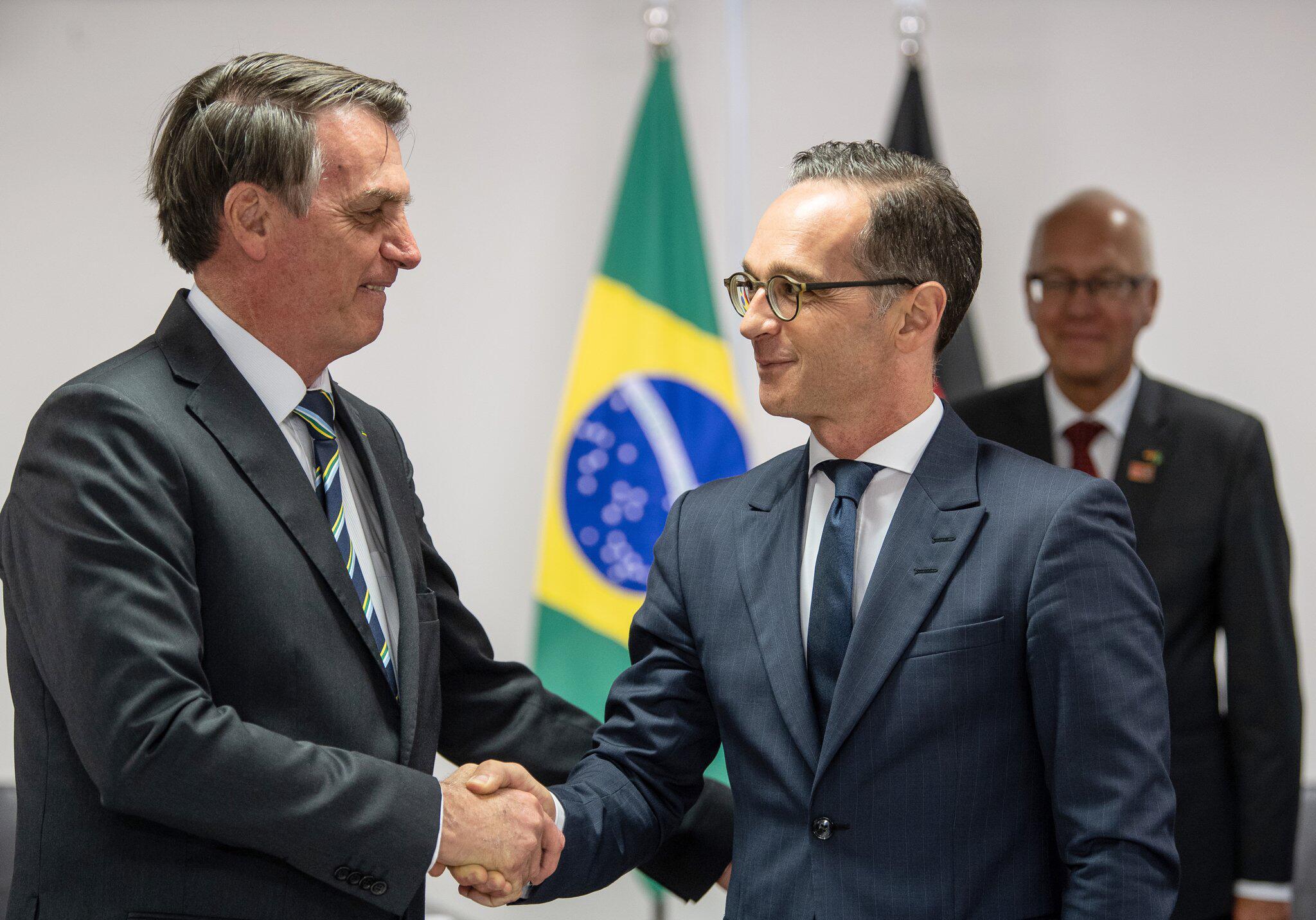 Bild zu Bundesaußenminister Maas in Brasilien