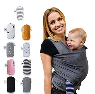 Bild zu Baby, Babytragen, bequem, alltagstauglich, praktisch, Babytragetücher, wettertauglich