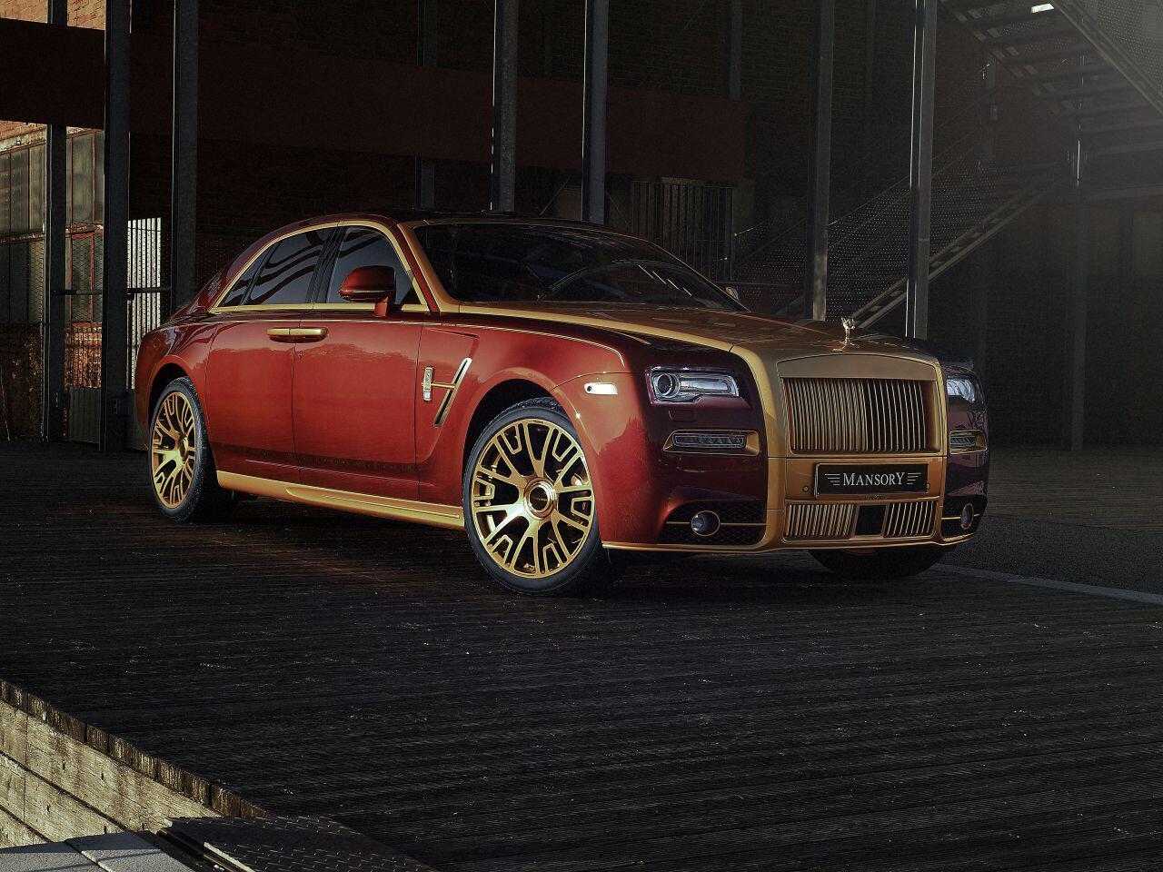 Bild zu Rolls-Royce Ghost-Series II von Mansory