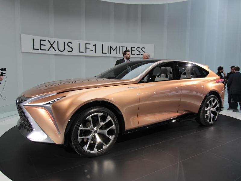 Bild zu Lexus-Studie LF-1 Limitless