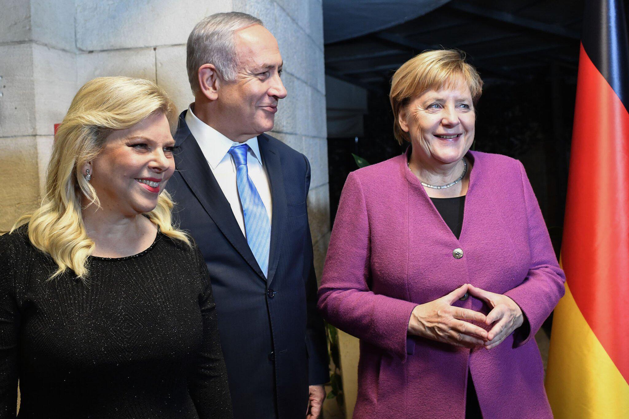 Bild zu Bundeskanzlerin Merkel besucht Israel