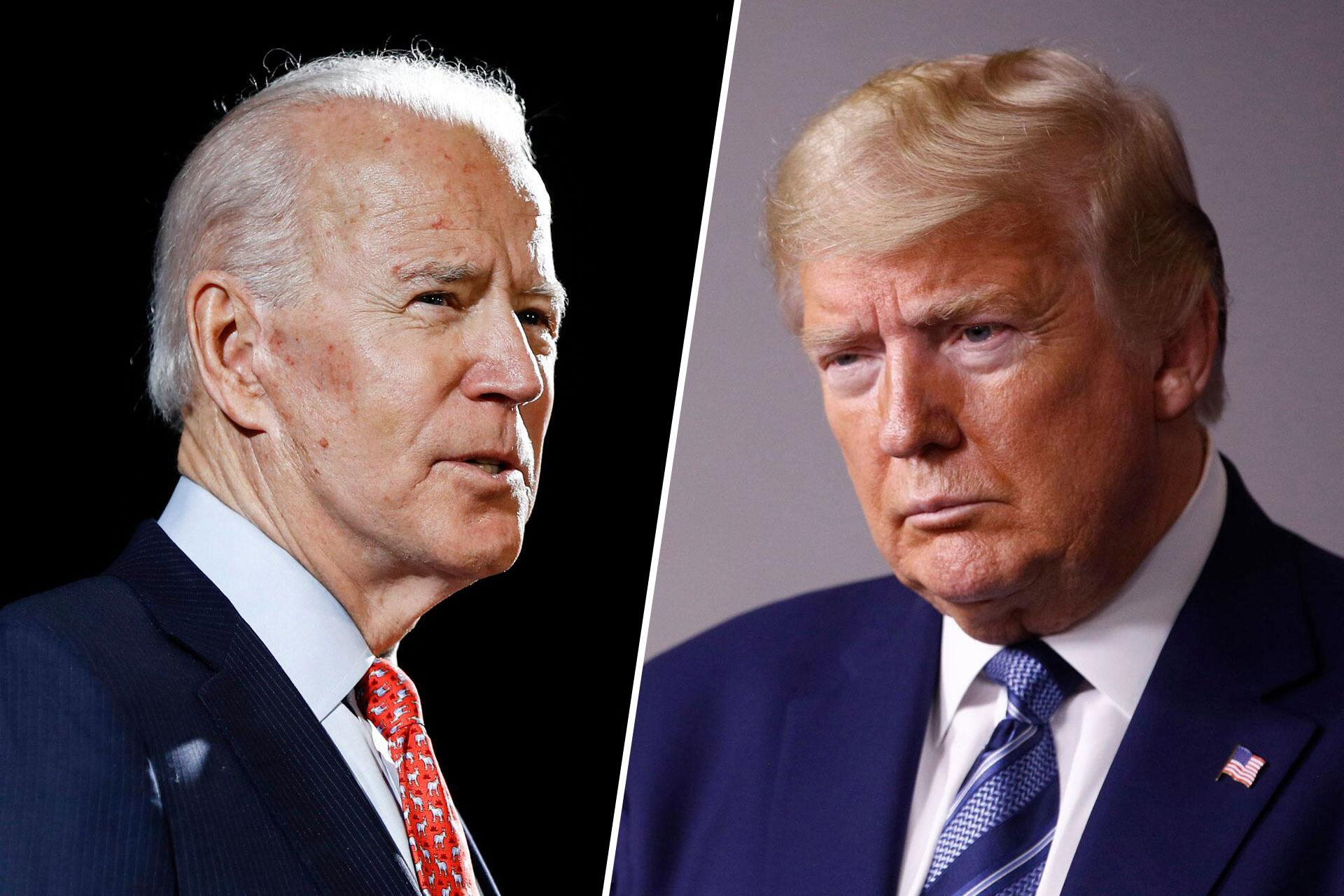 Bild zu Joe Biden, Donald Trump