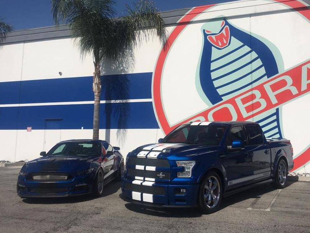 Bild zu Shelby Mustang und Ford F-150 Super Snake
