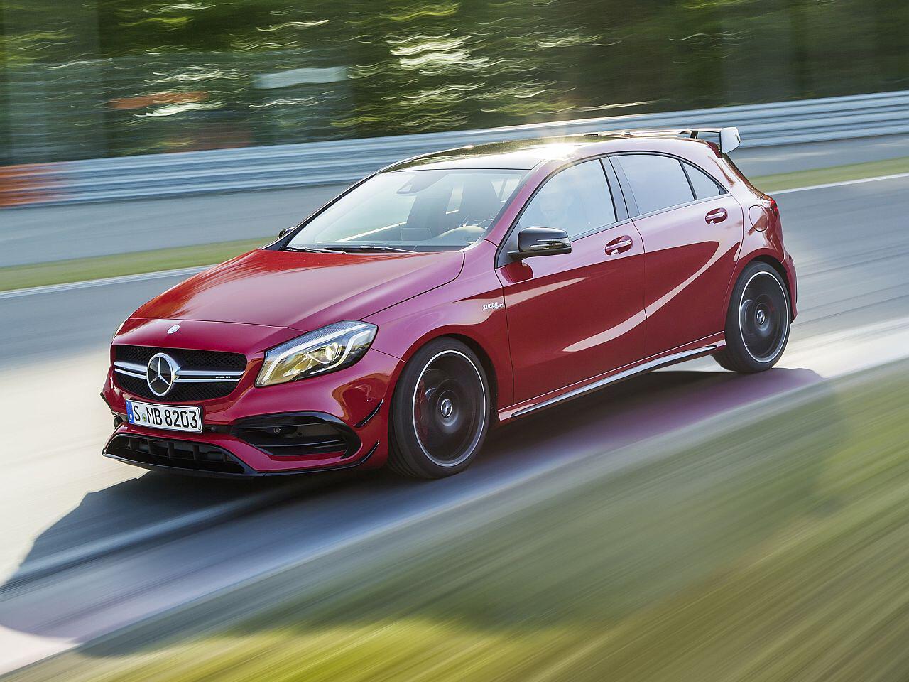 Bild zu Mercedes-AMG A 45 4MATIC