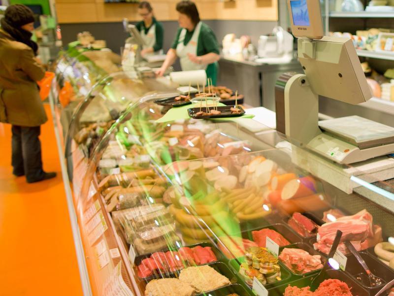 Bild zu Auswahl an der Bio-Fleischtheke