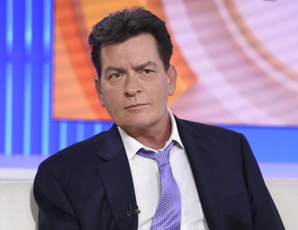 """Bild zu Charlie Sheen zu Gast bei der US-TV-Show """"Today"""""""