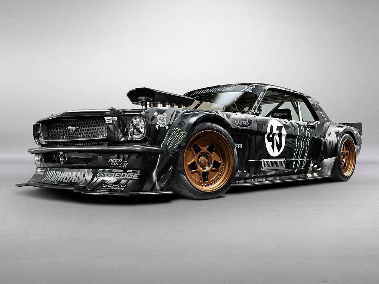 Bild zu Ford Mustang von Ken Block