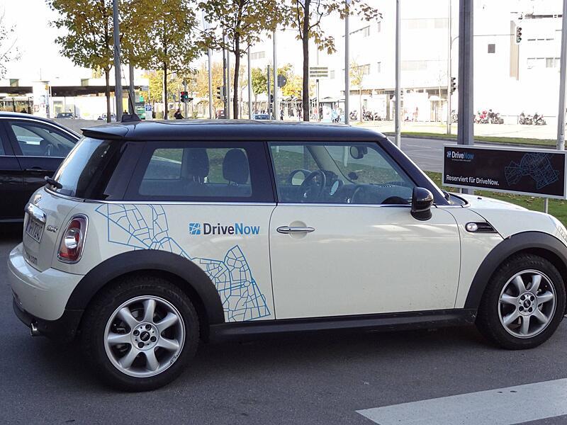 Bild zu Fahrzeug von Drive Now