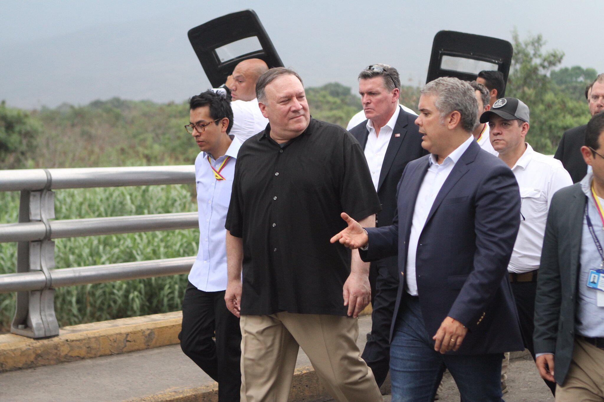 Bild zu US-Außenminister in Kolumbien