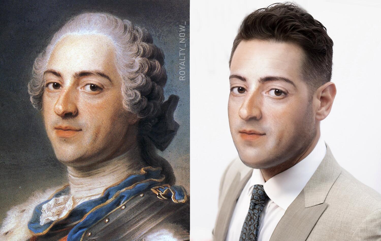Bild zu Louis XV