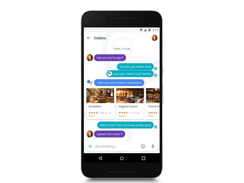 Bild zu «Allo»: Messenger-App von Google