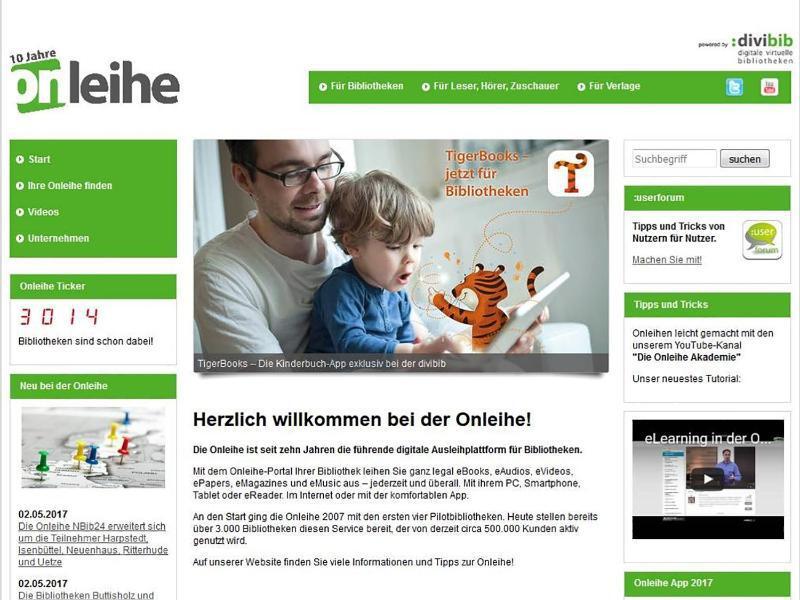 Bild zu Onleihe.net