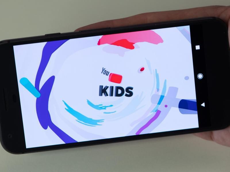 Bild zu Youtube Kids