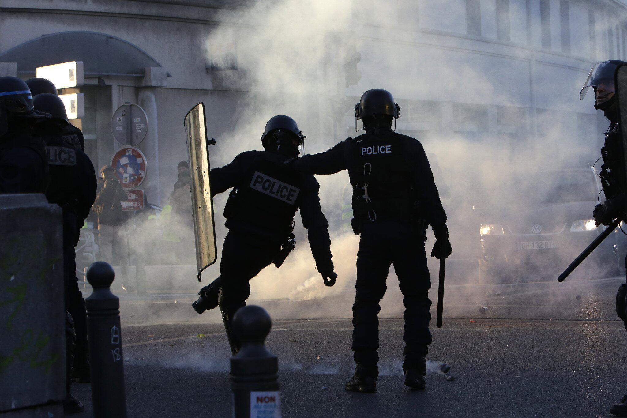 Bild zu Erneut «Gelbwesten»-Proteste in Frankreich