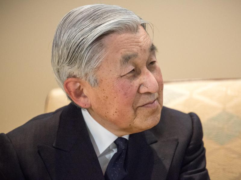Bild zu Kaiser Akihito