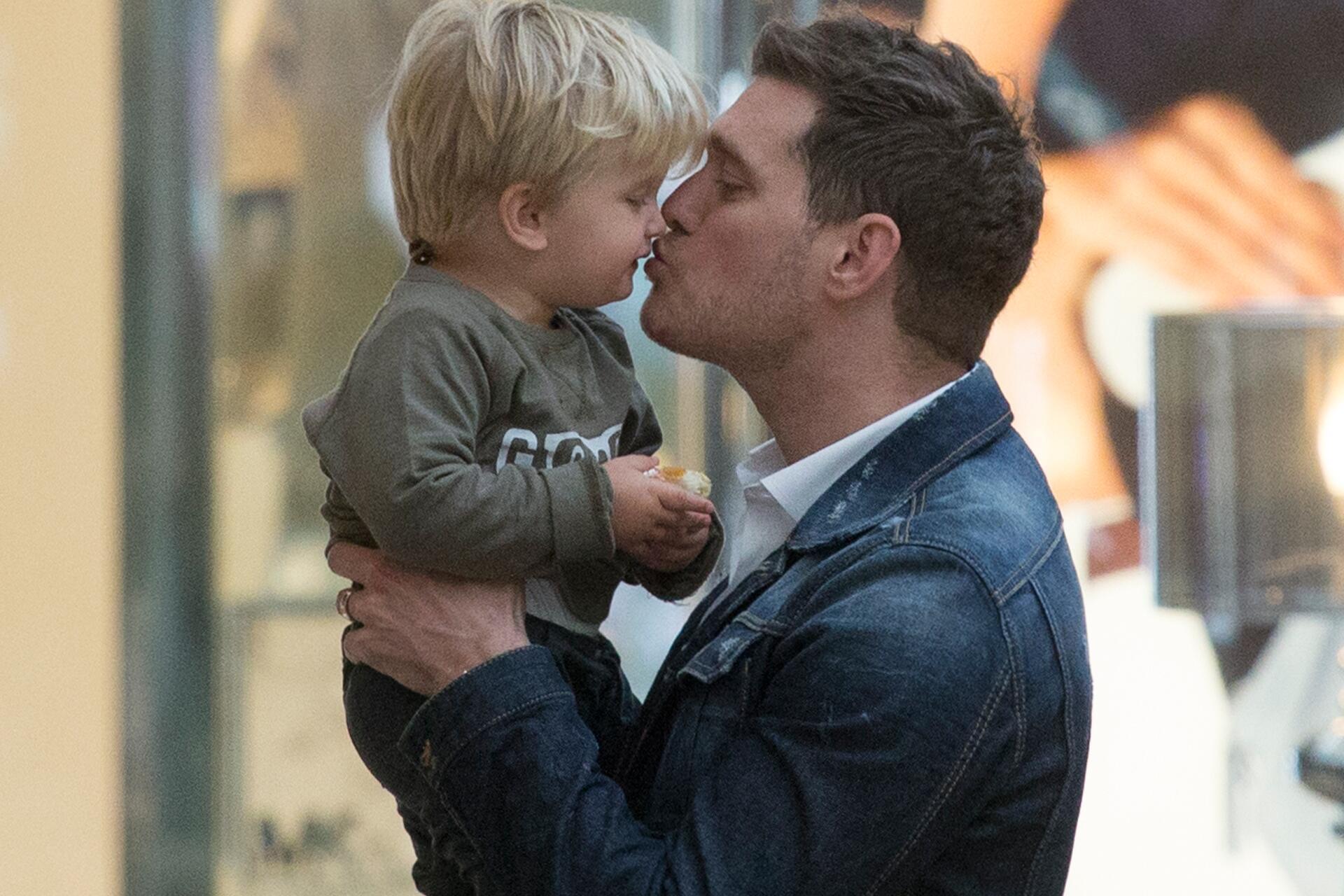 Bild zu Michael Bublé, Sohn, Krebs