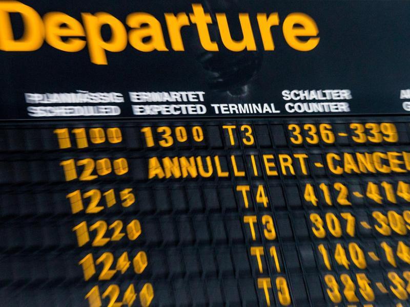 Bild zu Annullierter Flug