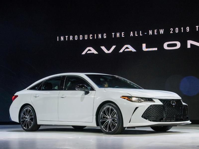 Bild zu Neuer Toyota Avalon