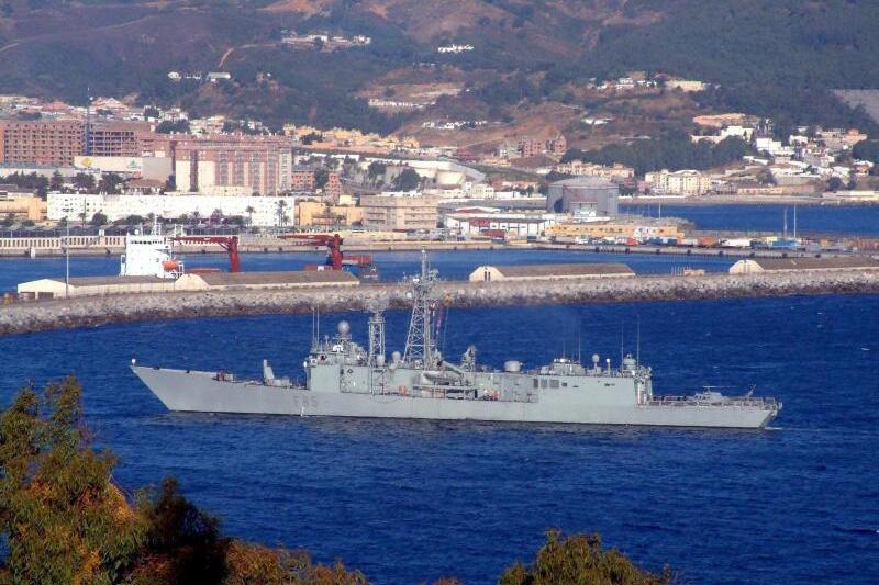 Hafen von Ceuta