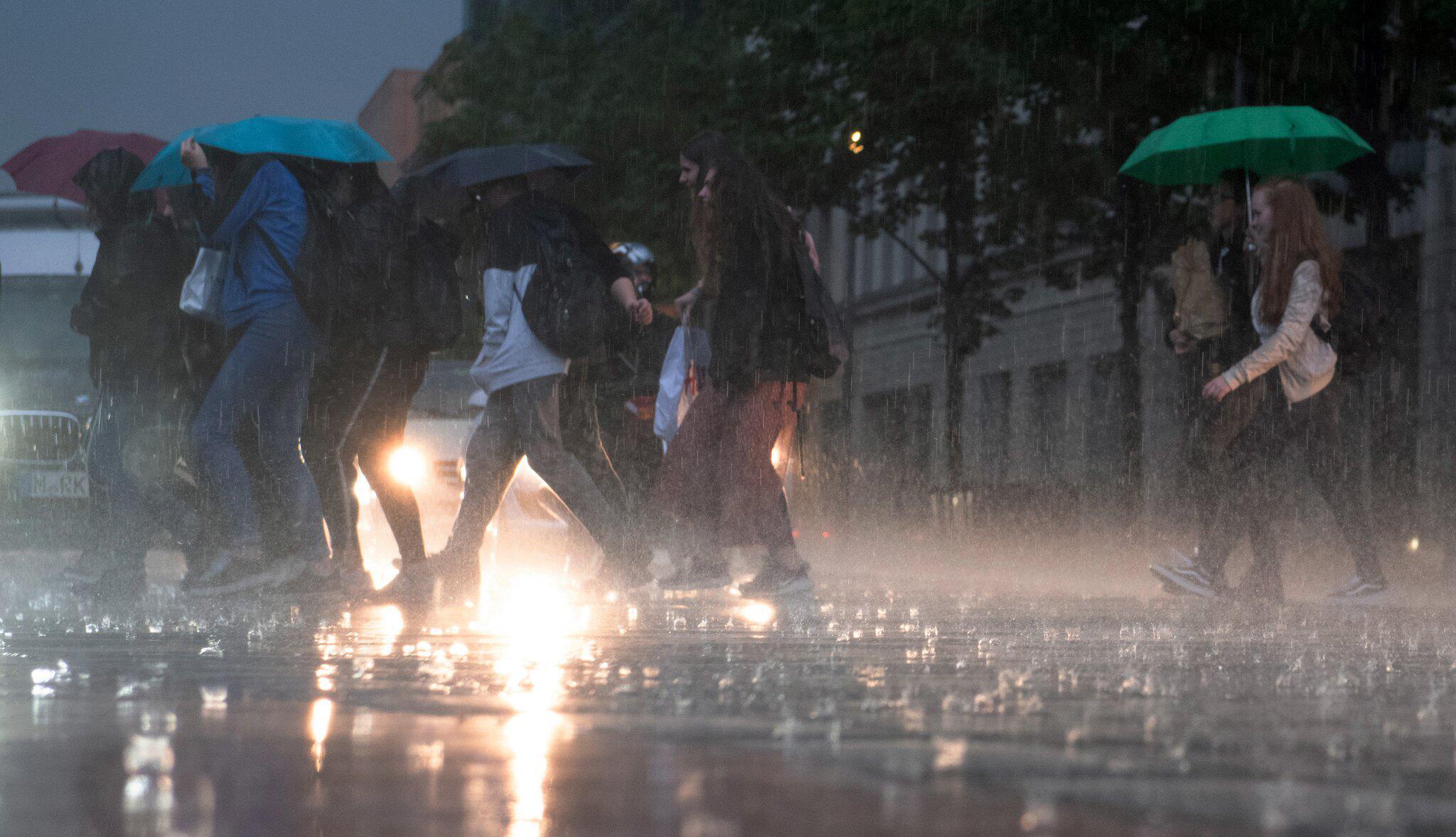 Bild zu Regen in Berlin