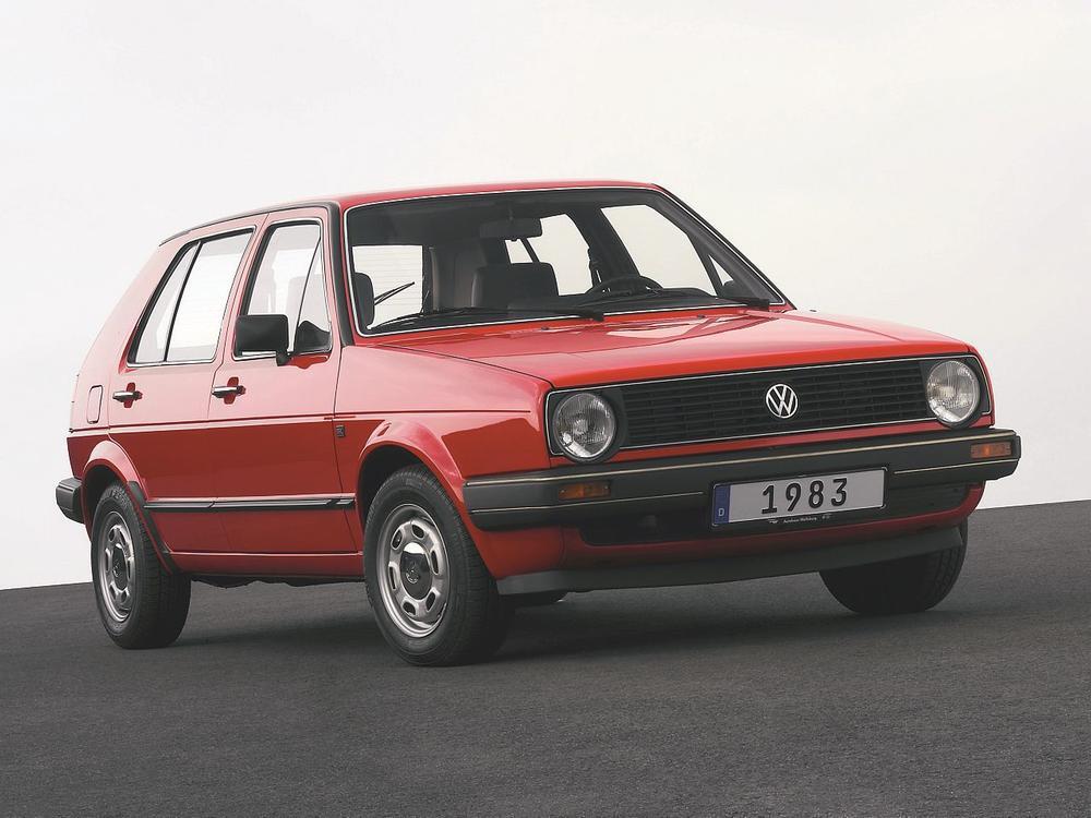 Bild zu VW Golf Oldtimer