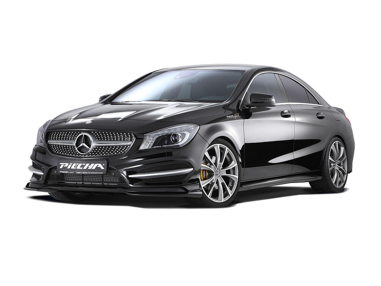 Bild zu Aufgebrezelter Mercedes CLA von Piëcha