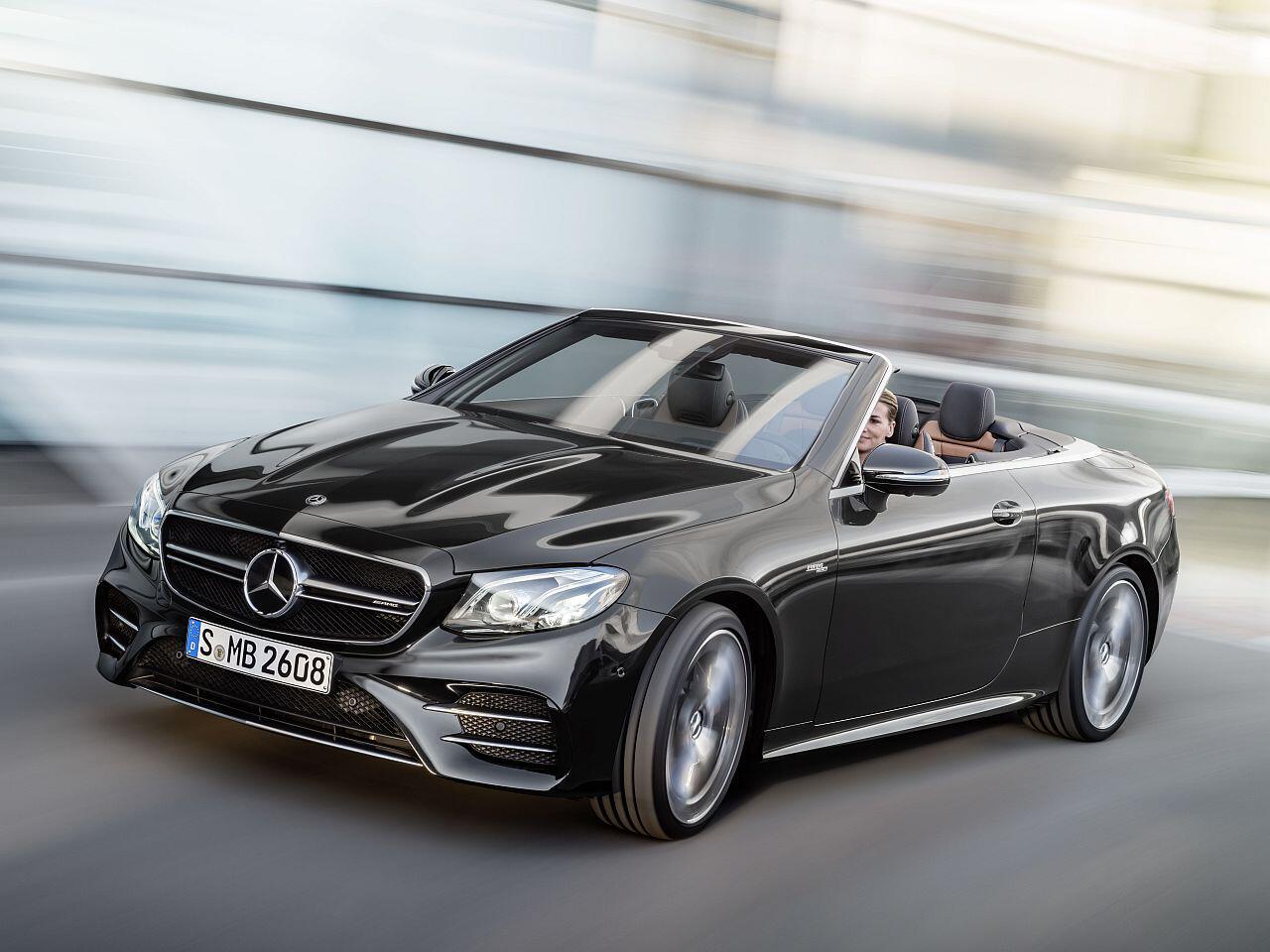 Bild zu Mercedes-AMG E 53 4MATIC+ Cabriolet