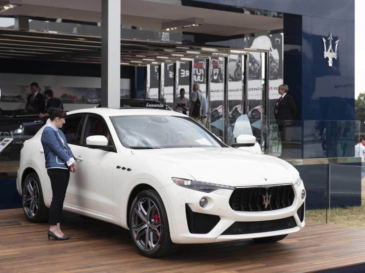 Bild zu Maserati Levante GTS in Goodwood