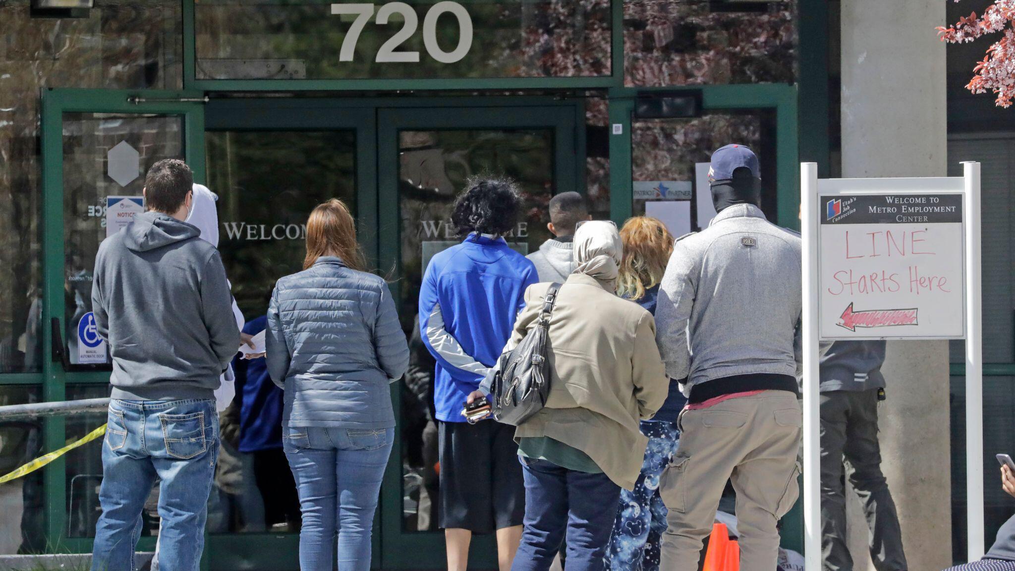 Bild zu Arbeitslose in den USA