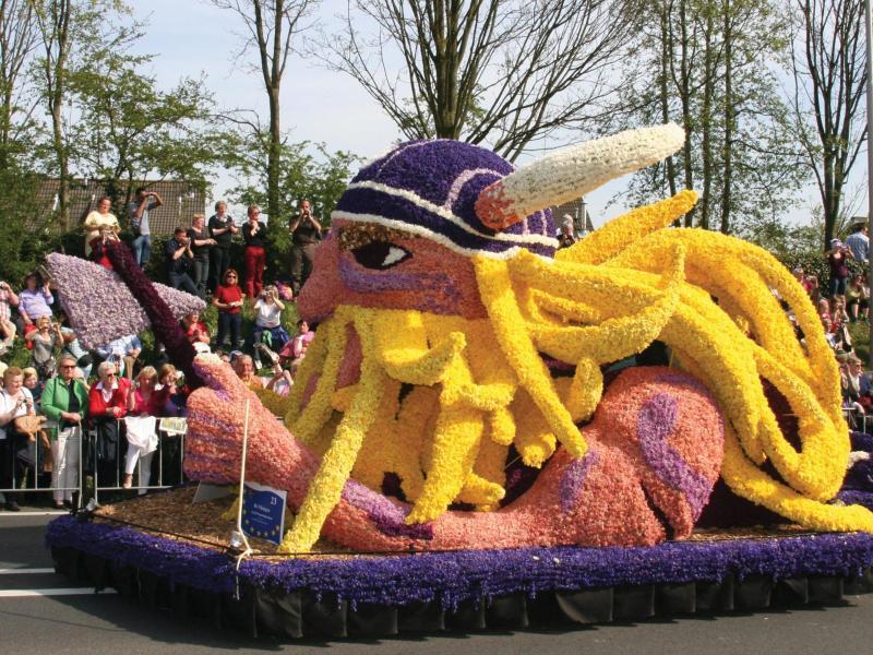 Bild zu Blumenkorso in Holland